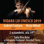 Vioara lui Enescu Deva - 2 octombrie 2019